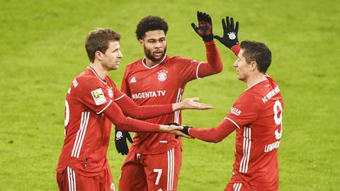 Tìm lại mạch thắng, Bayern Munich tiếp tục xây chắc ngôi đầu